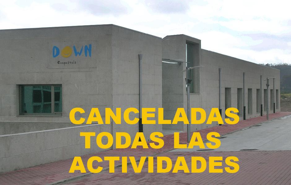 La Fundación Down Compostela suspende todas las actividades desde el lunes 13