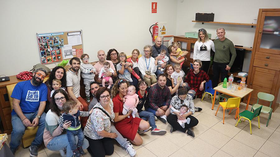 Bienvenida a Vega, nueva usuaria del programa de Atención Temprana de Down Compostela