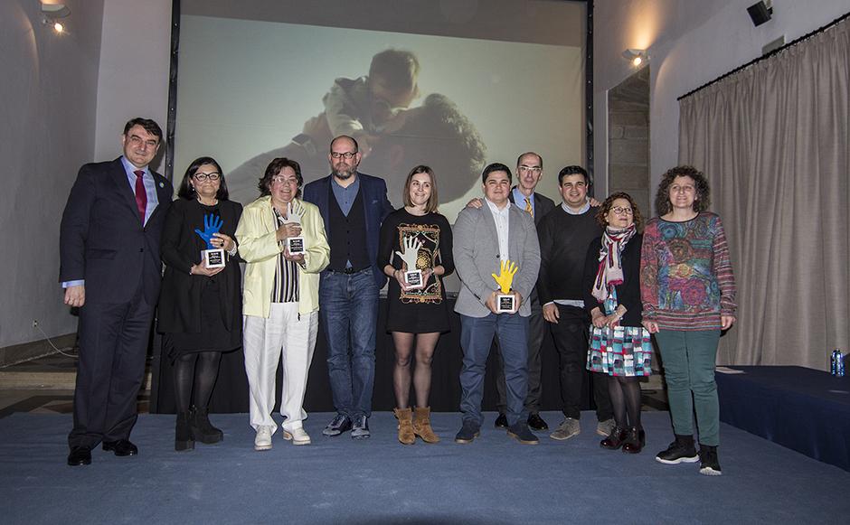 El derecho al voto, estrella en la gala de entrega de los Premios Down Compostela