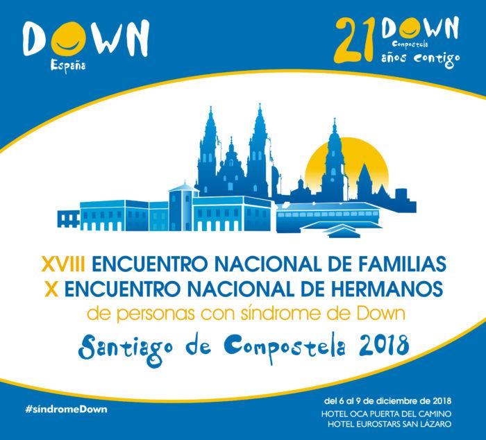 Down Compostela y Down España reúnen en Santiago a 500 personas en el XVIII Encuentro Nacional de Familias