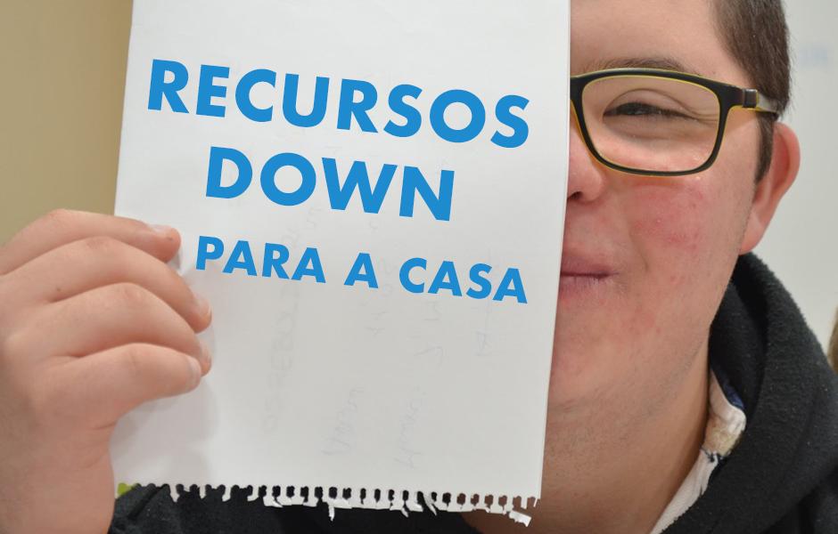 La Federación Down Galicia crea un apartado web con distintos recursos para trabajar y disfrutar en casa