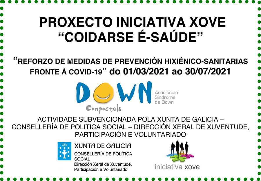 A Asociación Down Compostela desenvolveu o proxecto 'Coidarse é-saúde' cunha achega de Iniciativa Xove