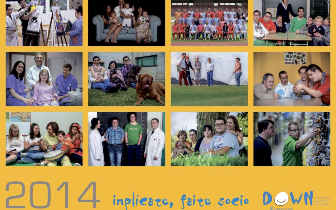 Calendario Down Compostela 2014: Implicados