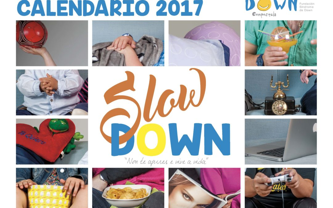 Calendario Down Compostela 2017: Slow Down