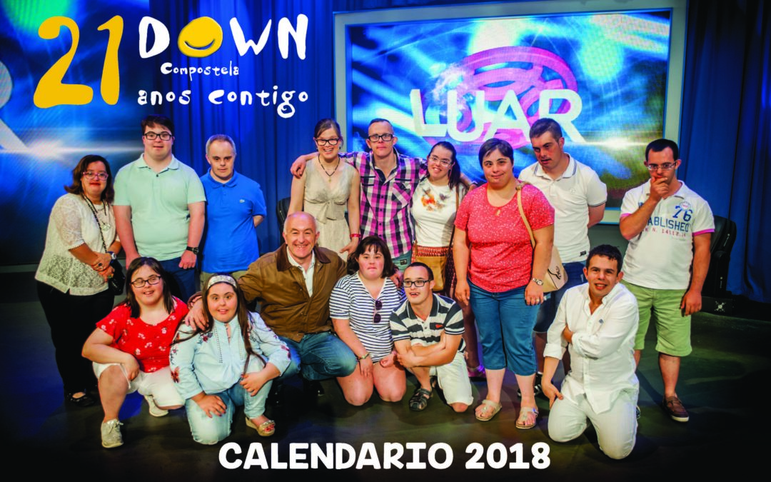 Calendario Down Compostela 2018: Slow Down